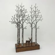 David Mayne 'The Quiet Wood' Steel Sculpture